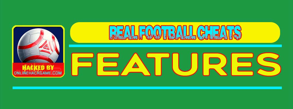 Real Football Cheats Features
