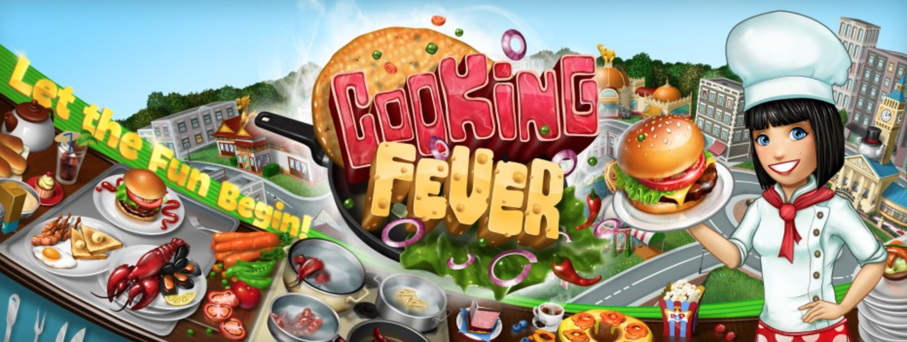 Online Cooking Fever Hack for Unlimited Gems & Coins