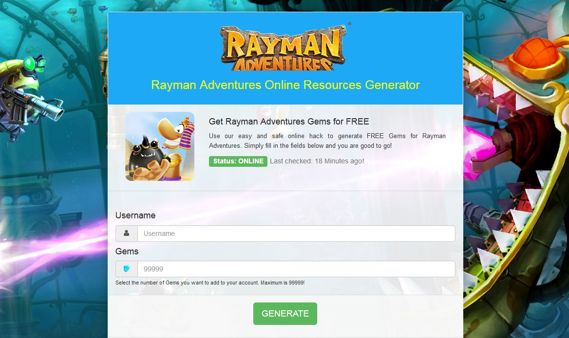 Rayman Adventures Hack Screenshot