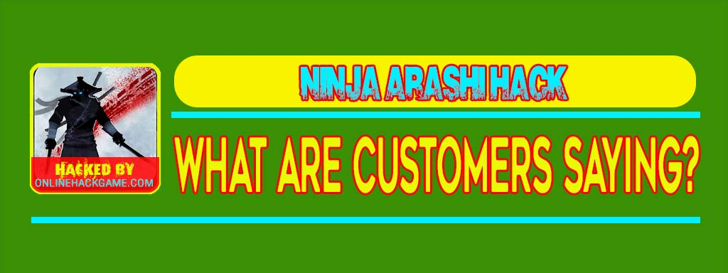 Ninja Arashi Hack What Are Customers Saying
