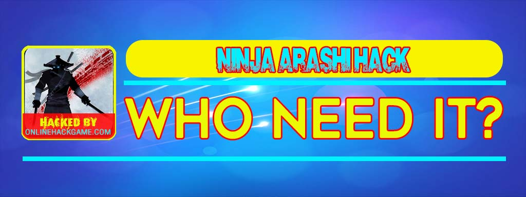 Ninja Arashi Hack Who need it