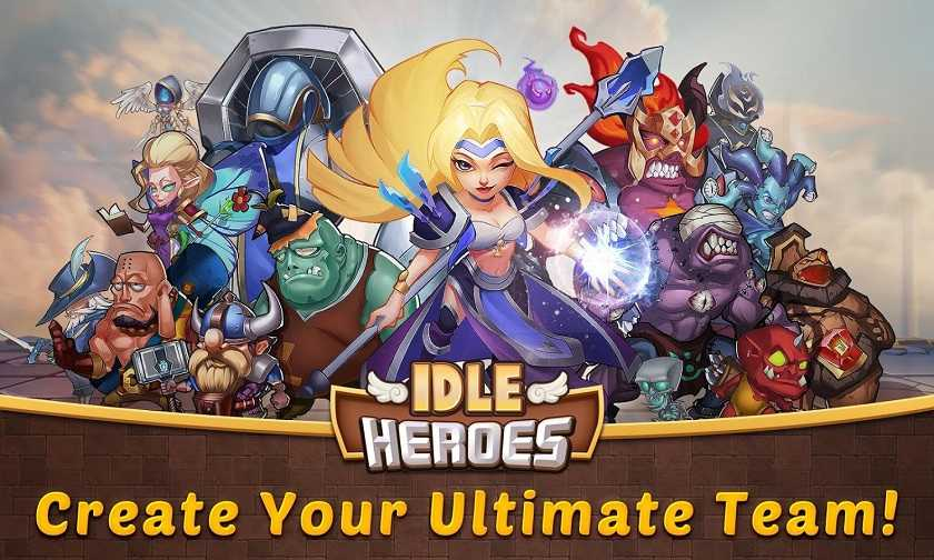 Idle Heroes Hack Cheats Unlimited Coins & Gems