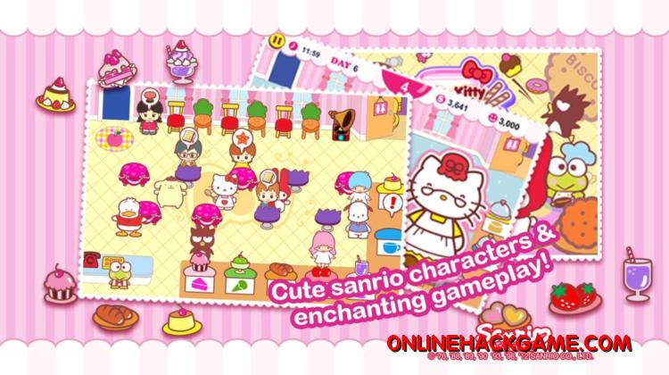 Hello Kitty Cafe Hack Cheats Unlimited Points