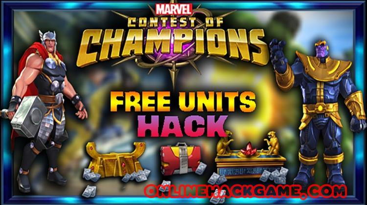 Marvel Contest Of Champions Hack Cheats Unlimited Units