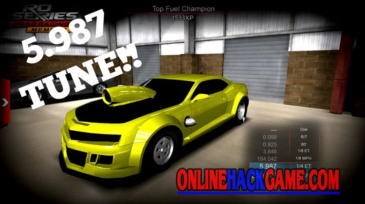 Pro Series Drag Racing Hack Cheats Unlimited Gold