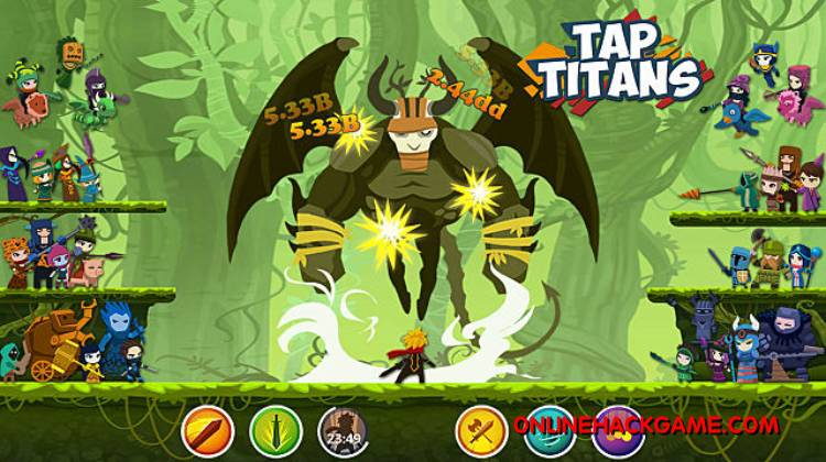 Tap Titans Hack Cheats Unlimited Diamonds