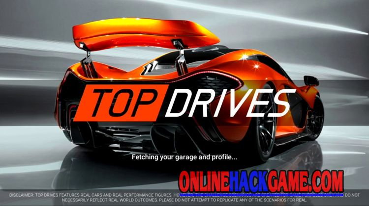 Top Drives Hack Cheats Unlimited Money